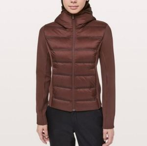 Lululemon down and around hooded jacket